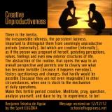 Creative-Unproductiveness