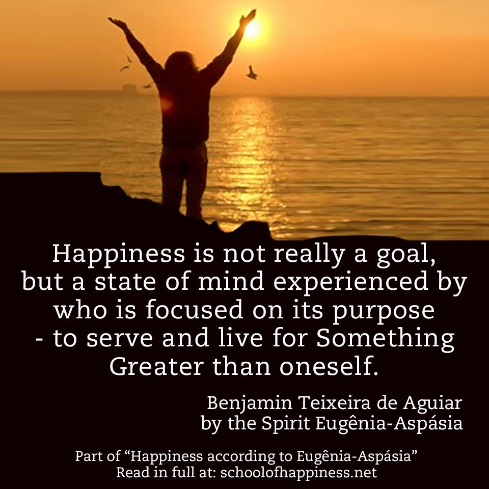 Happiness according to Eugênia-Aspásia