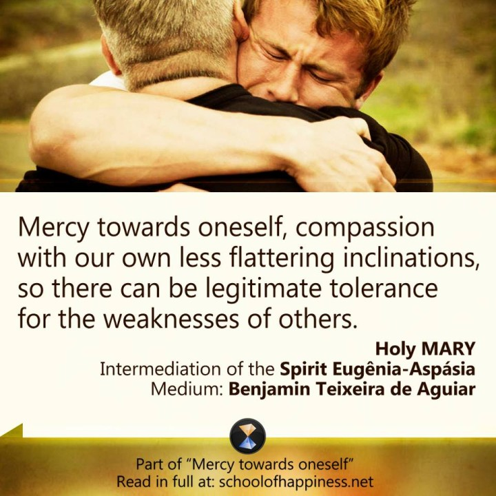 Mercy towards oneself 2