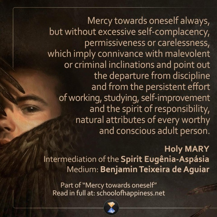 Mercy towards oneself 3