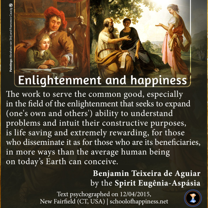 Enlightenment and happiness