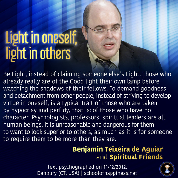 Light in oneself, light in others