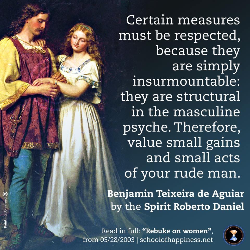 Rebuke on woman