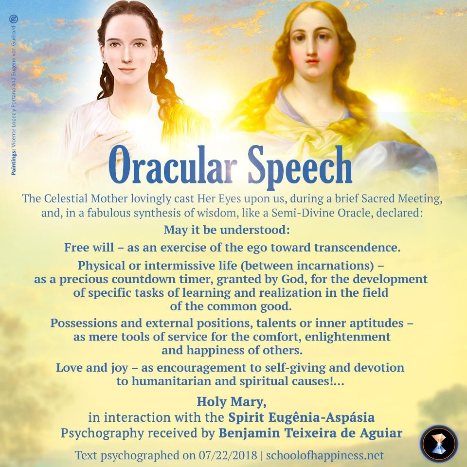 Oracular Speech