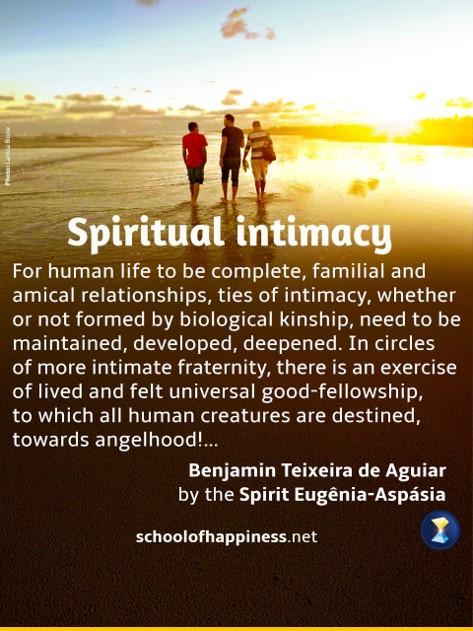 Spiritual intimacy
