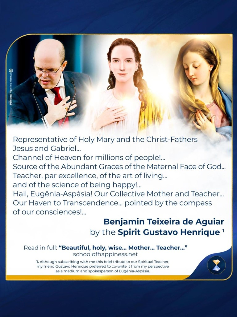 Beautiful, holy, Wise ... Mother ... Teacher!