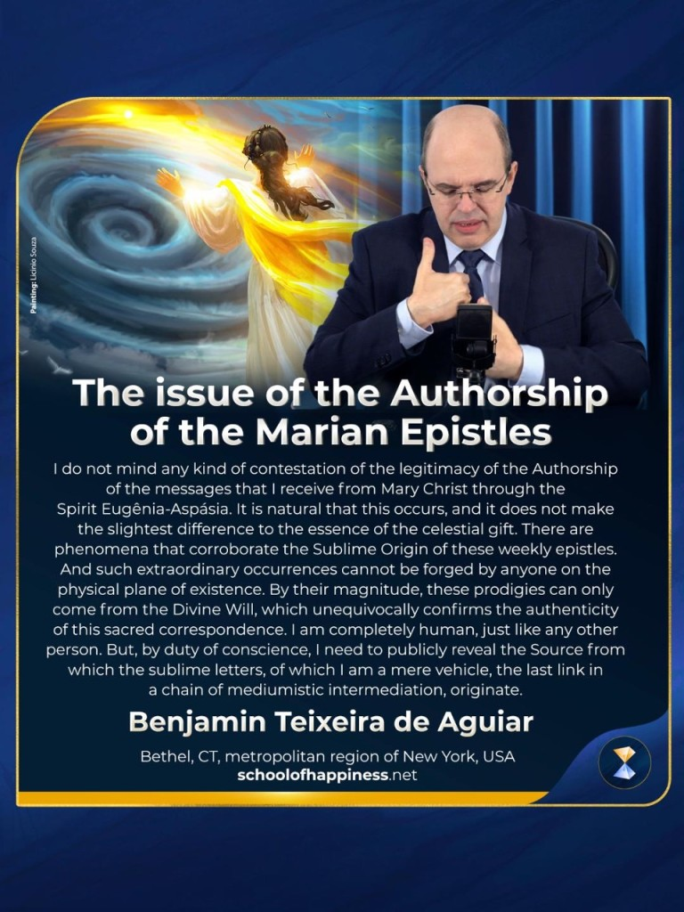 The issue of the Authorship of the Marian Epistles