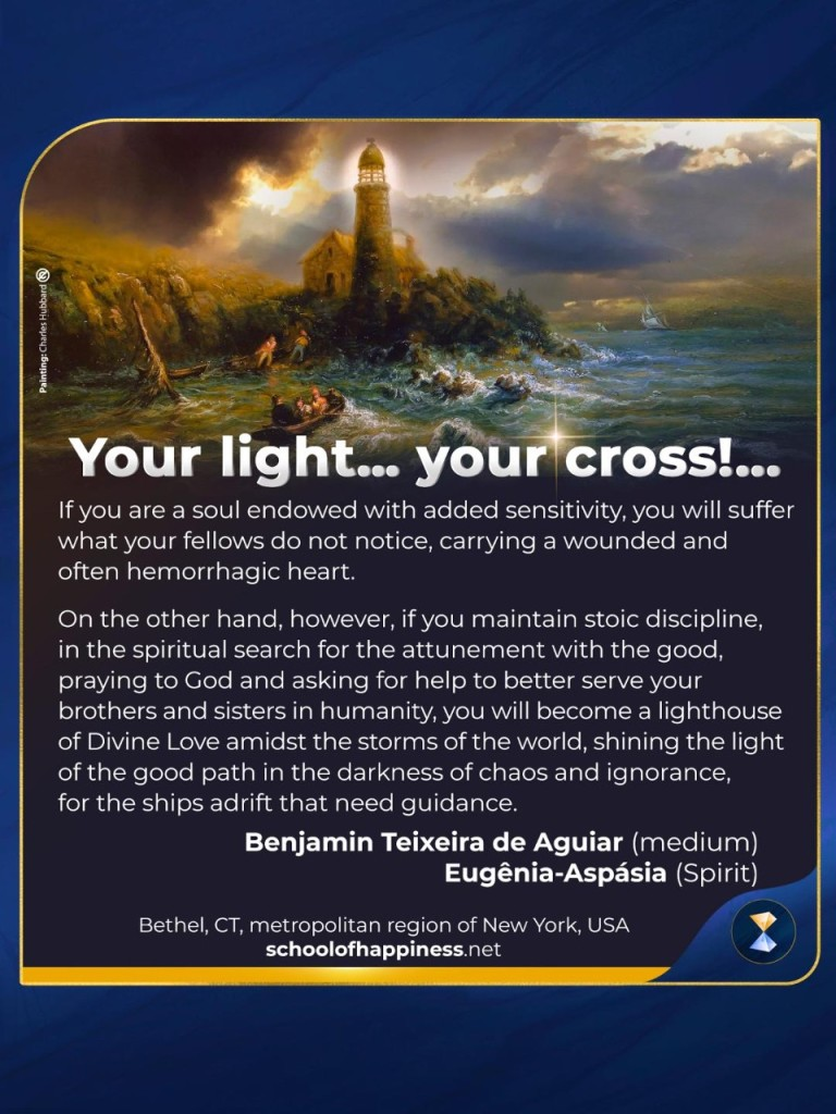 Your light… your cross!...