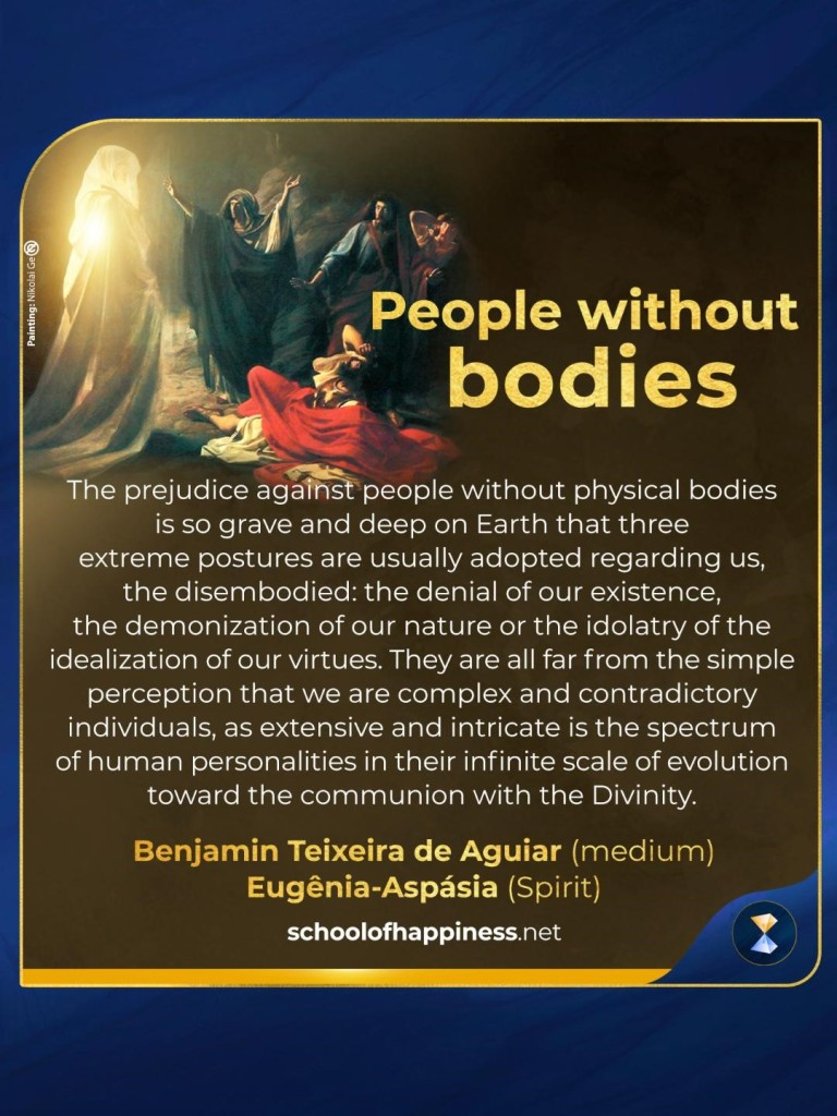 People without bodies