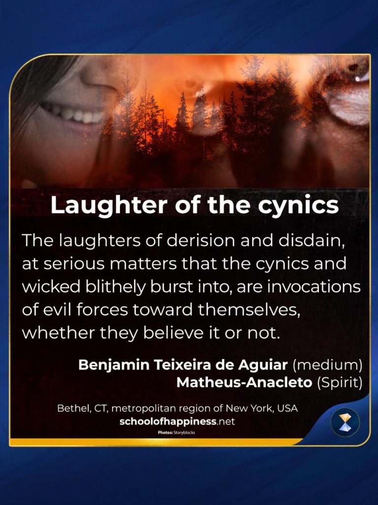 Laughter of the cynics